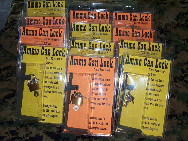 Ammo Can Lock- Dealer Doz.